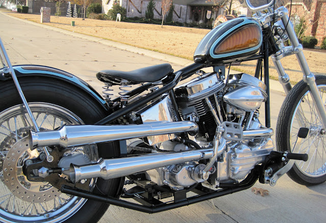 Harley Davidson Panhead By Main Drive Cycle Hell Kustom