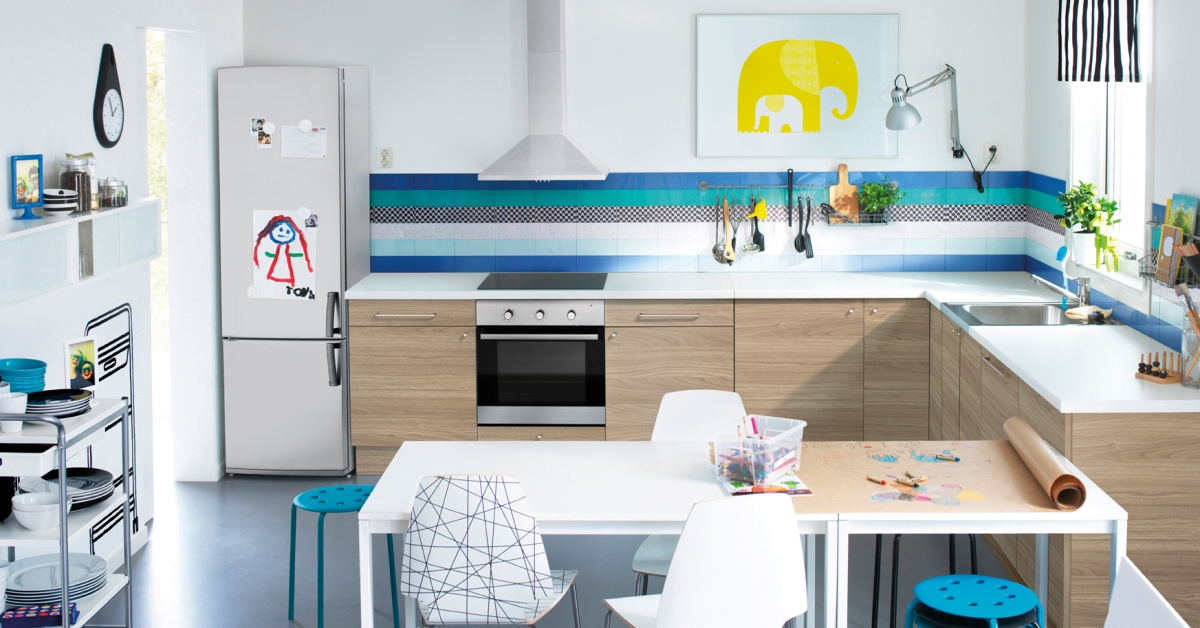 Decoracion mueble sofa: Ikea diseno cocina 3d