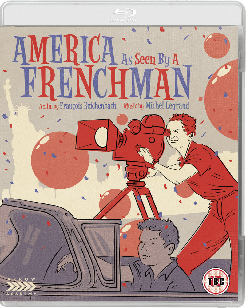 America As Seen by a Frenchman bluray