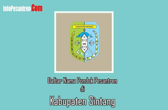 Pondok Pesantren di Kabupaten Sintang