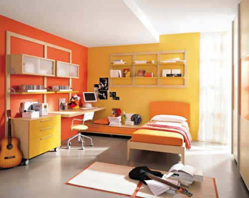 orange and yellow bedroom design ideas ideas for 15 ideas de decoraci 243 n de dormitorios para ni 241 os casas 42334