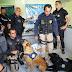 Operação dunas apreende drogas, armas e contrabando no litoral