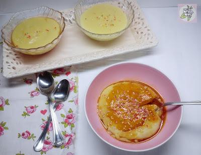 Flan Vegano de Crema de Almendra