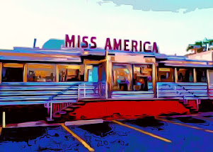 The MISS AMERICA DINER  - Jersey City  NJ