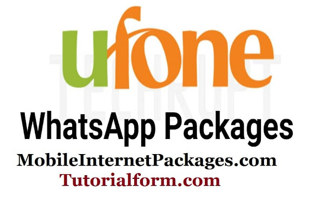 ufone WhatsApp package monthly