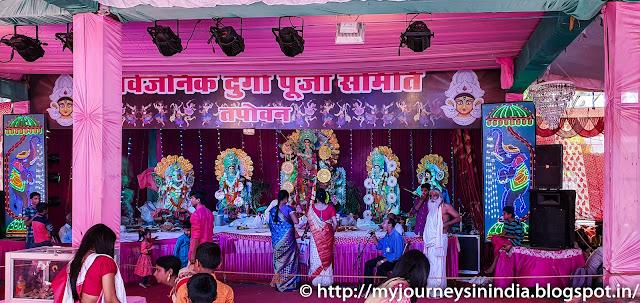 Durga Pandal Lakshman Jhula Rishikesh