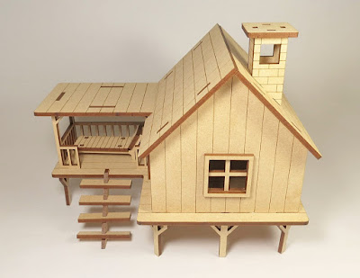 Beach House Wooden Puzzle