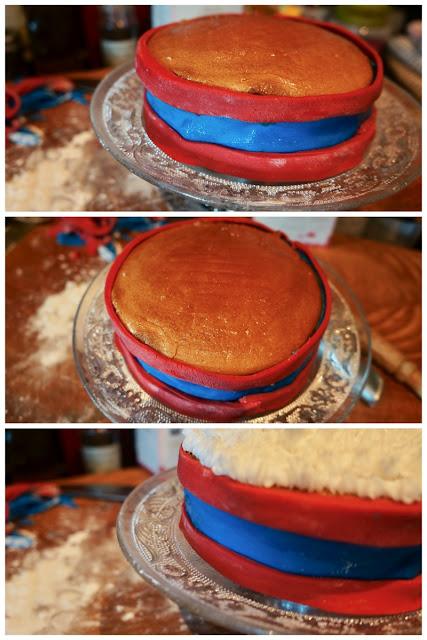 Fanny Cradock Drum Cake