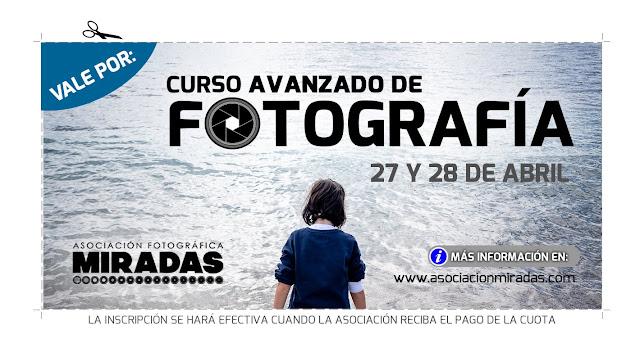 Curso presencial de Fotografía en Ceuta, nivel Avanzado - VALE