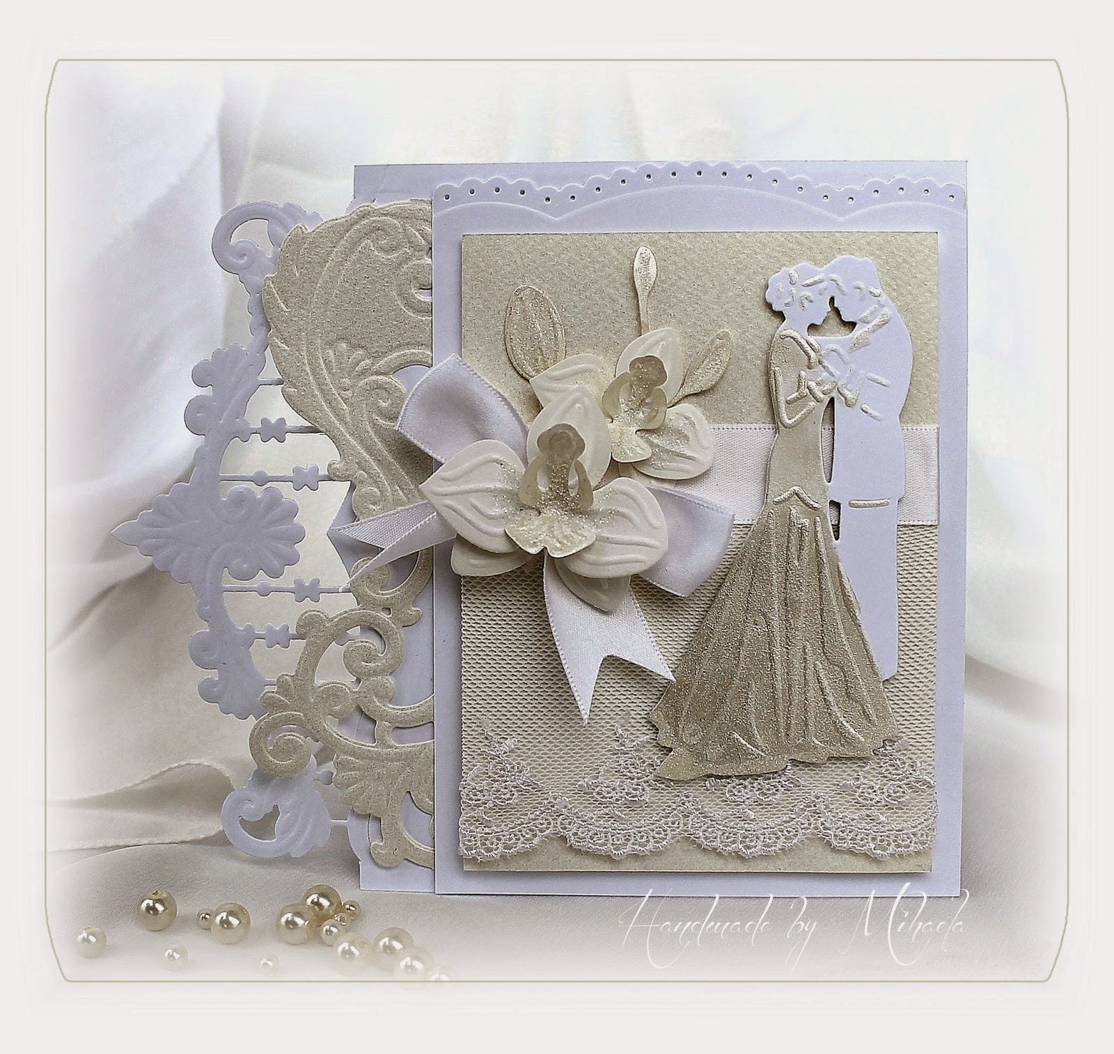 Wedding Cards: Handmade By Mihaela: Wedding Card