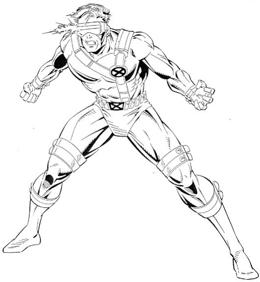 Coloring Pages For X Men ~ Top Coloring Pages
