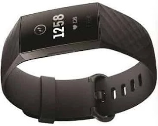 Fitbit Charge 3 Fitness Activity Tracker (Graphite and Black)
