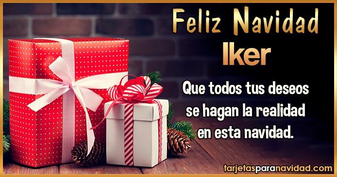 Feliz Navidad Iker