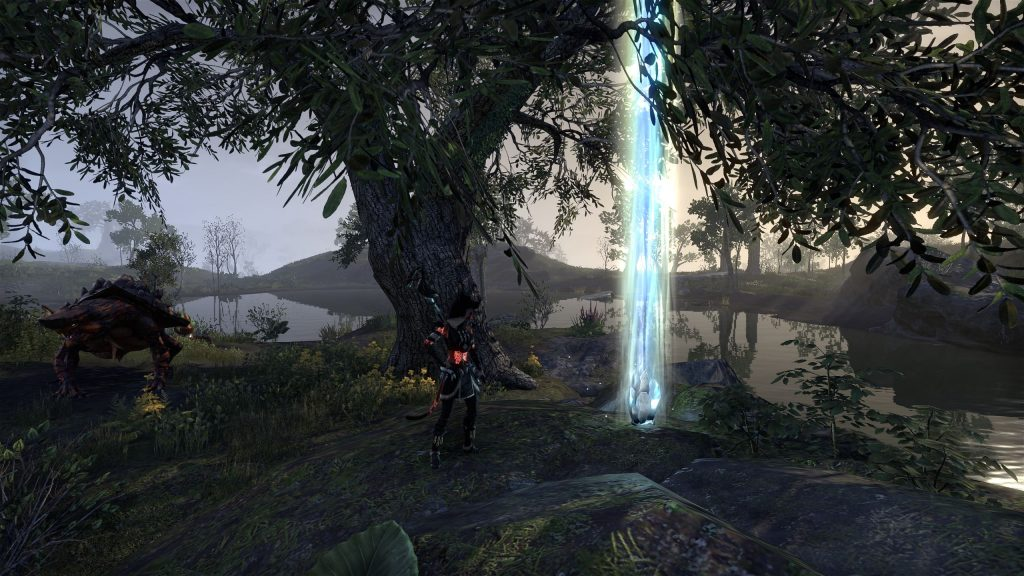 Skyshard 6 - West of the Ayleid Well next to Gideon on a tiny island