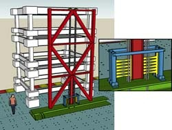 Komponen Steel Braced Frame
