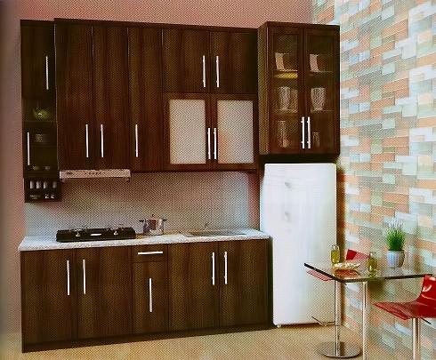 40 Contoh Dapur Warna Merah Yang Nampak Cantik Bergaya Modern ...