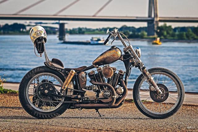 Harley Davidson Ironhead By Thunderbike Hell Kustom