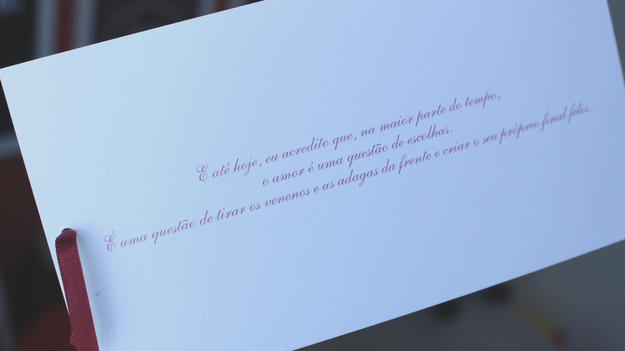 Casal Usa Frase De Greys Anatomy Em Convite De Casamento