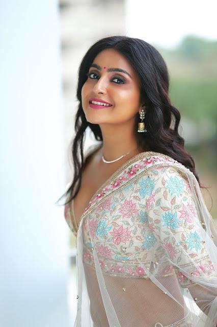 Bengali model Triyaa Das hot latest sexy saree photos