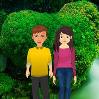 BigEscapeGames Valentine Heart Forest Escape