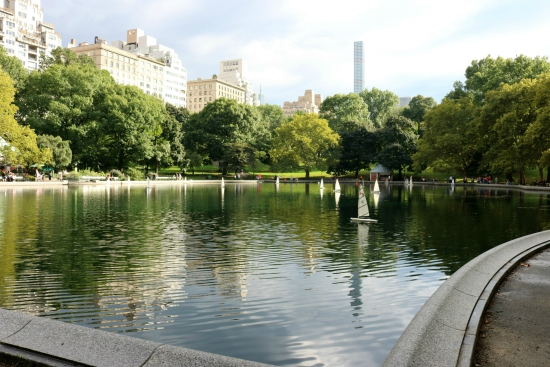 Model Sailboats | Conservatory Water in Central Park | New York City