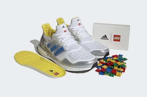 Adidas launches customizable shoe via Lego blocks