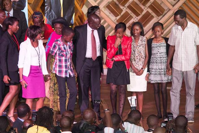Photos Of Uhuru Kenyatta and William Ruto's Families. (2/2)