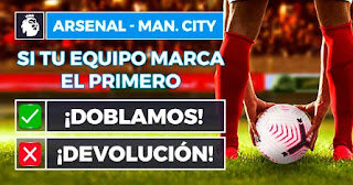 Paston promo Arsenal vs City 21-2-2021