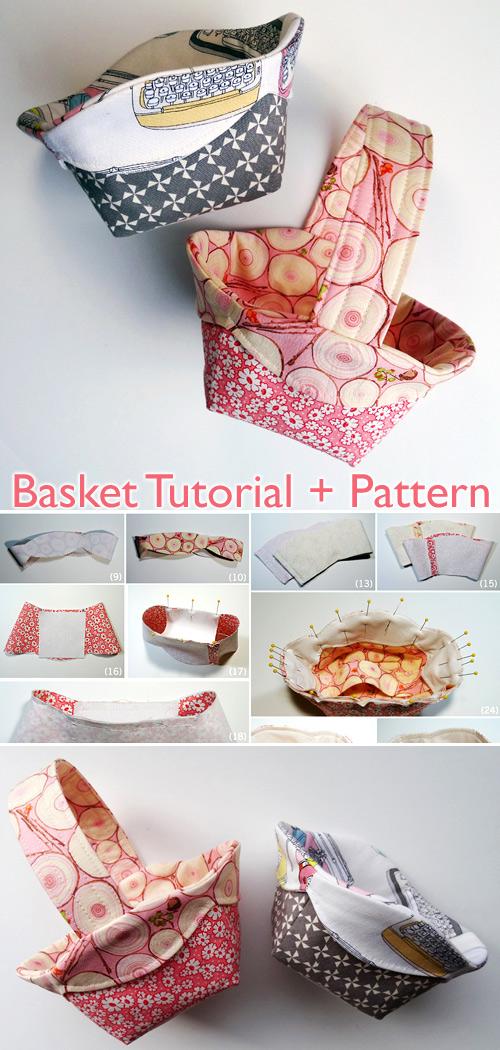 Scalloped Edge Basket Tutorial + Pattern