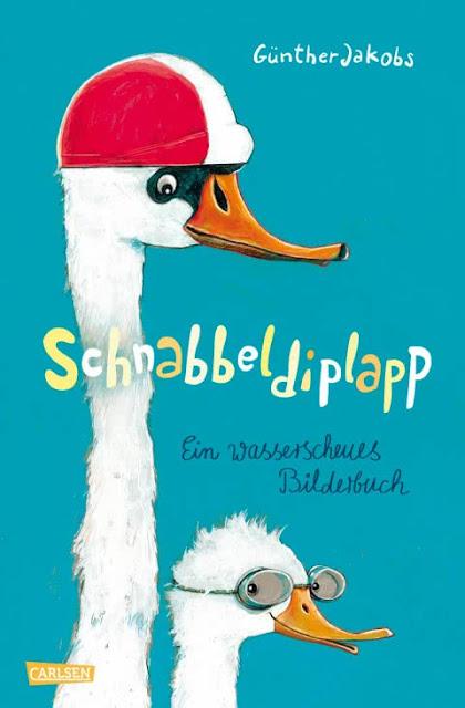 """#Bilderbuchliebling: Günther Jakobs und die wilden Piraten. Das Kinderbuch """"Schnabbeldiplapp. Ein wasserscheues Bilderbuch""""."""