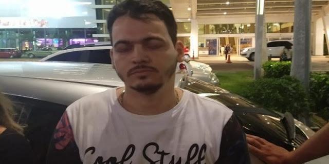 Fugitivo que foi alvo do resgate do PB-1 ano passado é preso em shopping de Fortaleza