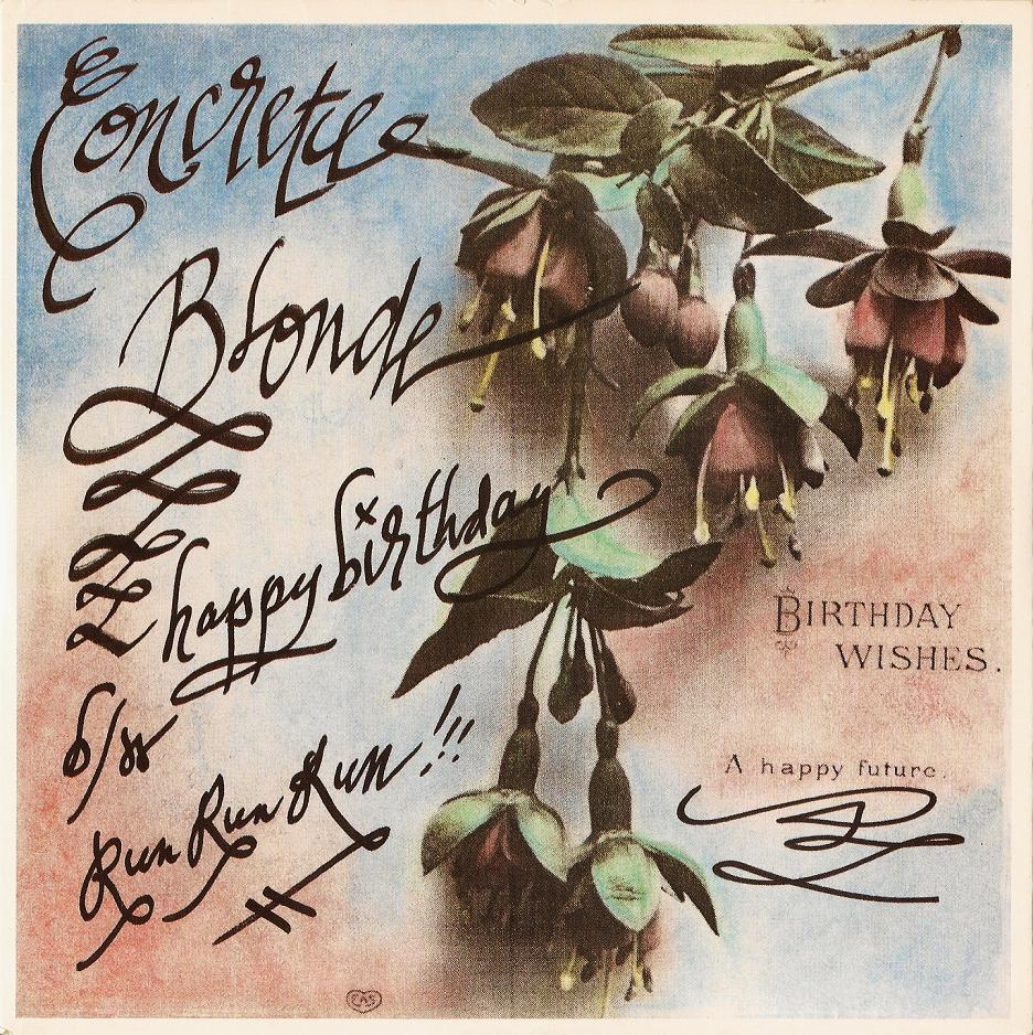 Concrete Blonde Birthday 43