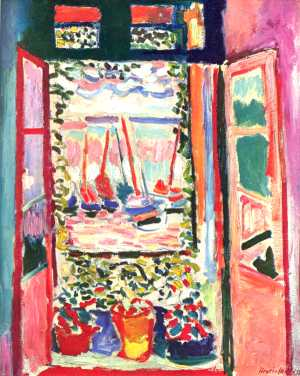 Henri Matisse, La fenêtre ouverte à Collioure