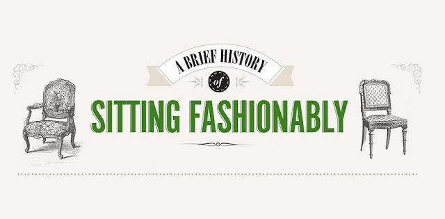 A-Brief-History-Of-Sitting-ashionably #Infographic