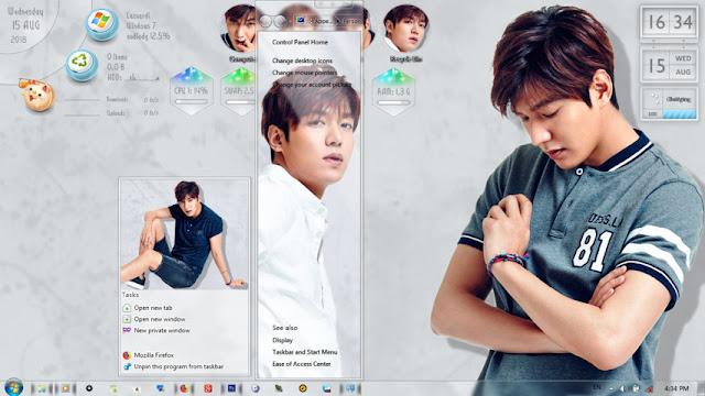 Lee Min-Ho Theme Win 7 by Enji Riz Lazuardi