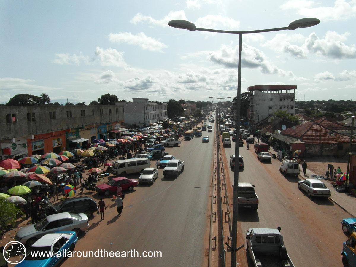 Market of Bissau, Guinea Bissau, West Africa