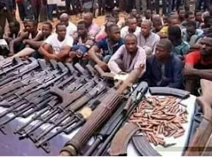 Some Bandits Have Been Arrested, And Many Weapons Also seized As The JTF Keep Bombing Their Hideouts