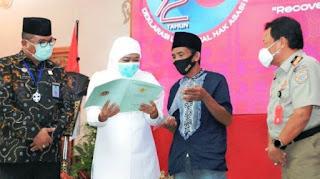 Berkah Kembali ke Islam, Eks Syiah Sampang Dihadiahi 239 Sertifikat Tanah