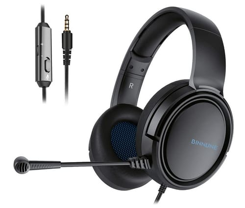 BINNUNE Gaming Headset for Xbox One with Microphone