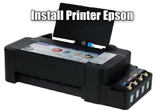 Cara install printer epson L120