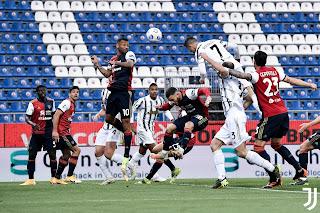 ملخص واهداف مباراة يوفنتوس وكالياري (3-1) الدوري الايطالي