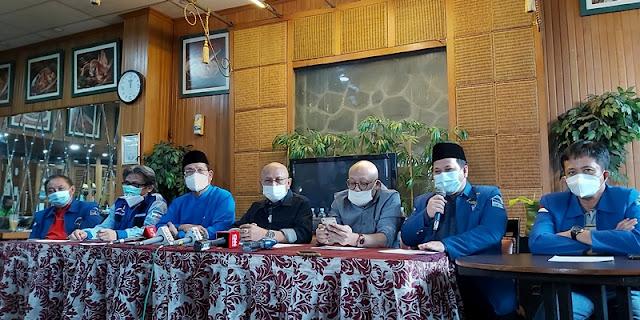 Konferensi Pers Pasca Isu Kudeta, Senior Demokrat Puji-puji Era Anas Urbaningrum