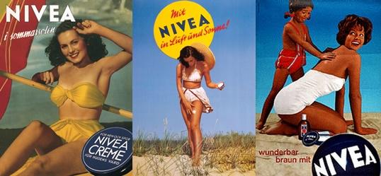 carteles vintage Nivea