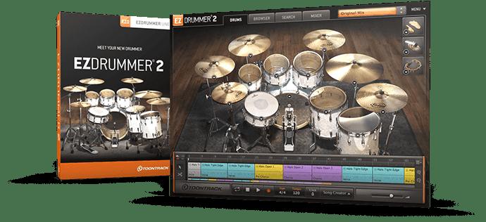 Ezdrummer 2 + Expansões +Ativação download