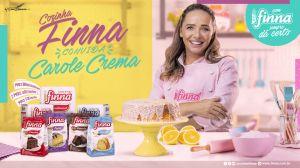 Finna faz parceria com a chef pâtissier Carole Crema