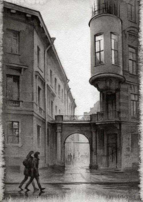 Architectural Paintings by Ildyukov Oleg