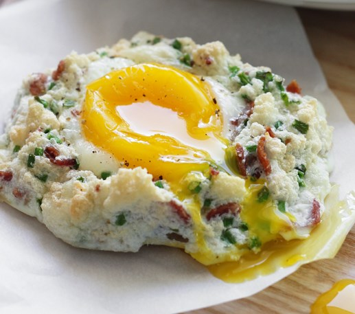Eggs in Clouds #healthy #popularrecipe
