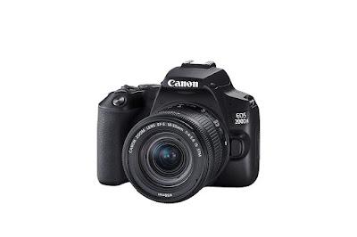 Canon EOS 200D II 24.1MP Digital SLR Camera + EF-S 18-55mm f4 is STM Lens