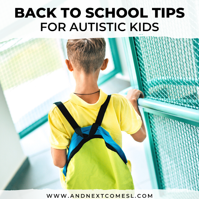 Autism and schooling: tips for back to school for autistic kids and their parents