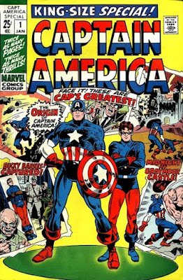 Captain America King-Size Special #1, Bucky
